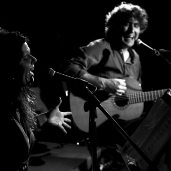 Marta Arnaus i Jordi Bardella a l'ecomuseu
